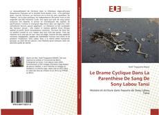 Обложка Le Drame Cyclique Dans La Parenthèse De Sang De Sony Labou Tansi