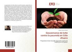 Copertina di Gouvernance de lutte contre la pauvreté en Côte d'Ivoire