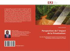 Buchcover von Perspectives de l' Impact de la Privatisation: