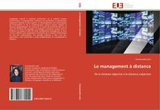 Bookcover of Le management à distance
