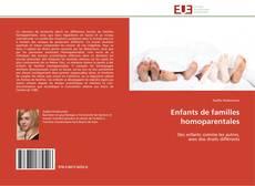 Buchcover von Enfants de familles homoparentales