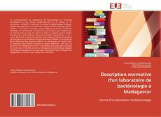 Buchcover von Description normative d'un laboratoire de bactériologie à Madagascar