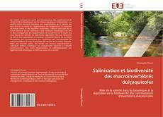 Buchcover von Salinisation et biodiversité des macroinvertébrés dulçaquicoles