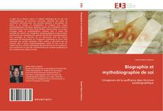 Capa do livro de Biographie et mythobiographie de soi