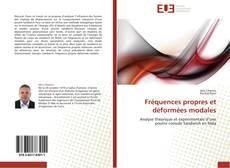 Capa do livro de Fréquences propres et déformées modales