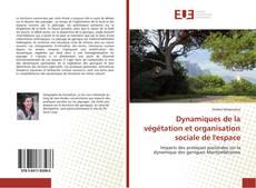 Couverture de Dynamiques de la végétation et organisation sociale de l'espace