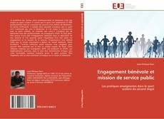 Couverture de Engagement bénévole et mission de service public