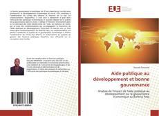 Portada del libro de Aide publique au développement et bonne gouvernance