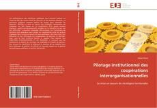 Couverture de Pilotage institutionnel des coopérations interorganisationnelles