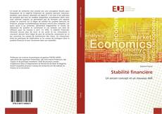 Bookcover of Stabilité financière