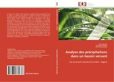 Capa do livro de Analyse des précipitations dans un bassin versant