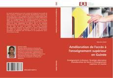 Amélioration de l'accès à l'enseignement supérieur en Guinée kitap kapağı