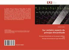 Bookcover of Sur certains aspects du principe d'incertitude