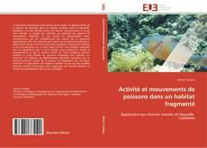 Обложка Activité et mouvements de poissons dans un habitat fragmenté