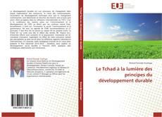 Le Tchad à la lumière des principes du développement durable kitap kapağı