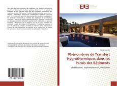 Обложка Phénomènes de Transfert Hygrothermiques dans les Parois des Bâtiments