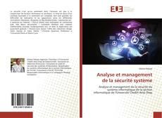 Portada del libro de Analyse et management de la sécurité système