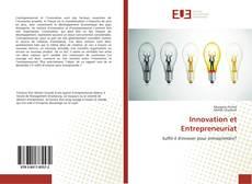 Bookcover of Innovation et Entrepreneuriat