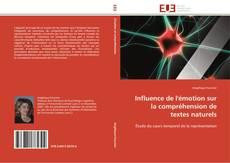 Couverture de Influence de l'émotion sur la compréhension de textes naturels