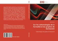 Buchcover von Sur les cohomologies de la formalité et les graphes de Kontsevich