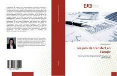 Bookcover of Les prix de transfert en Europe
