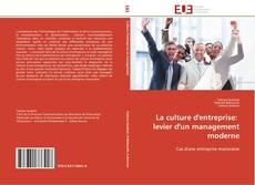 Bookcover of La culture d'entreprise:   levier d'un management moderne