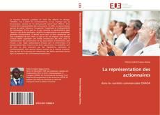 Bookcover of La représentation des actionnaires