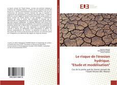 """Bookcover of Le risque de l'érosion hydrique. """"Etude et modélisation"""""""