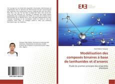Обложка Modélisation des composés binaires à base de lanthanides et d'arsenic
