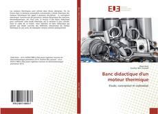Bookcover of Banc didactique d'un moteur thermique