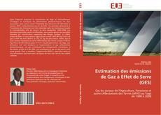 Estimation des émissions de Gaz à Effet de Serre (GES)的封面