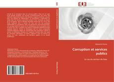 Bookcover of Corruption et services publics