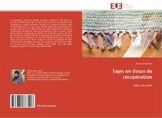 Portada del libro de Tapis en tissus de récupération