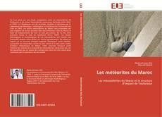 Buchcover von Les météorites du Maroc