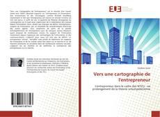 Capa do livro de Vers une cartographie de l'entrepreneur