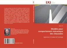 Modèle pour comportement mécanique des chaussées kitap kapağı