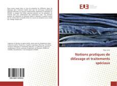Copertina di Notions pratiques de délavage et traitements spéciaux