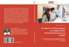 Du Néant en Informatique au Programmeur Professionnel grace au Delphi的封面