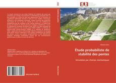 Capa do livro de Étude probabiliste de stabilité des pentes