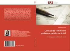 Capa do livro de La fiscalité comme un problème public au Brésil