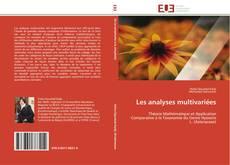 Couverture de Les analyses multivariées