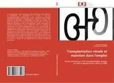 Bookcover of Transplantation rénale et maintien dans l'emploi