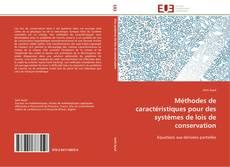 Méthodes de caractéristiques pour des systèmes de lois de conservation kitap kapağı