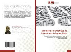 Simulation numérique et innovation thérapeutique kitap kapağı
