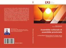 Bookcover of Assemblée nationale et assemblée provinciale