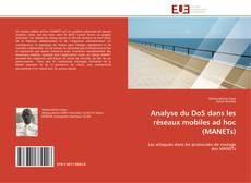 Обложка Analyse du DoS dans les réseaux mobiles ad hoc (MANETs)