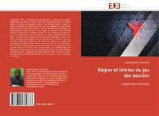 Capa do livro de Règles et limites du jeu des besoins