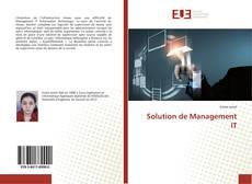 Buchcover von Solution de Management IT