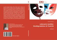Couverture de colorants textiles: biodégradation & Toxicité