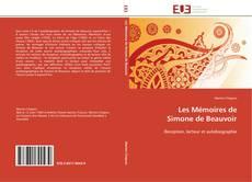 Portada del libro de Les Mémoires de  Simone de Beauvoir